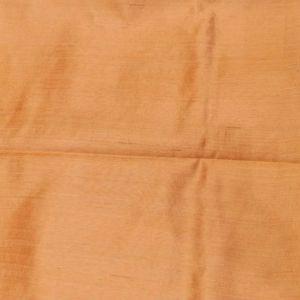 Fancy Matka Silk Plain Orange Saree